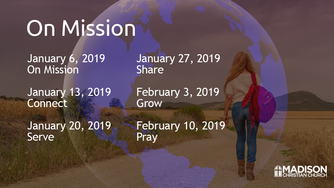 On Mission Sermon Series